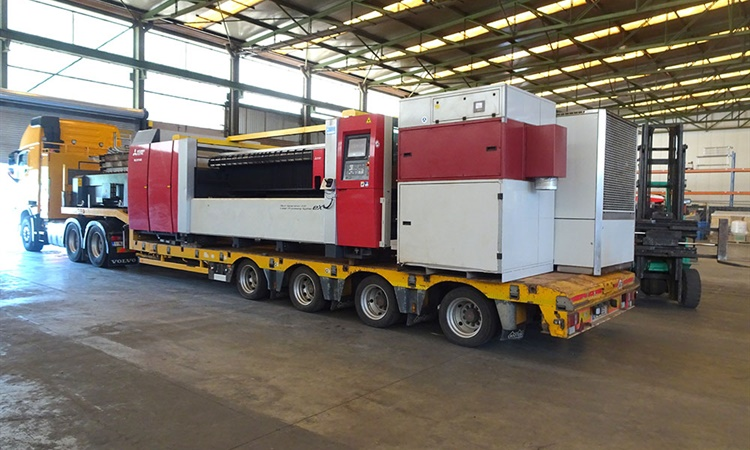 Mitsubishi laser delivered in Holland