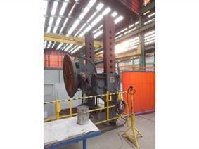 Ransome welding positioner 15 ton, Turning gears - Positioners - Welding dericks & -pinchtables