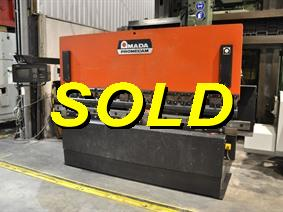 Amada Promecam ITPS 100 ton x 3100 mm CNC, Hydraulic press brakes