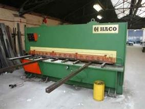 Haco TS 3100 x 10 mm, Hydraulic guillotine shears