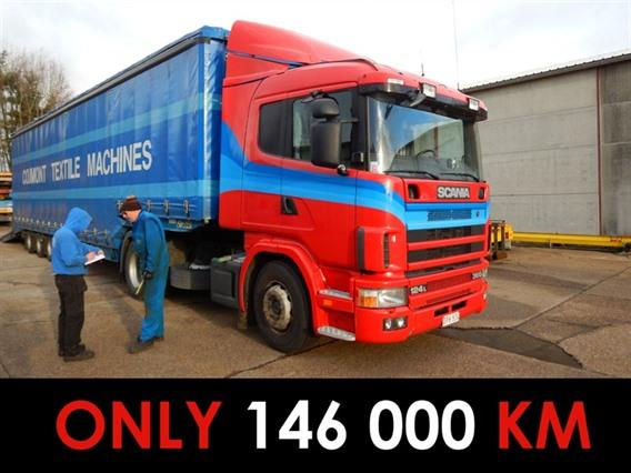 Scania 360 Type 124L, Vehicles (lift trucks - loading - cleaning etc)