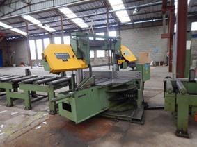 Behringer HBP340 NC, Band sawing machines