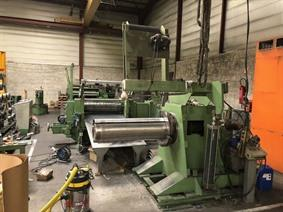 Redex slitting line 1100 x 4 mm, Längsteilanlage