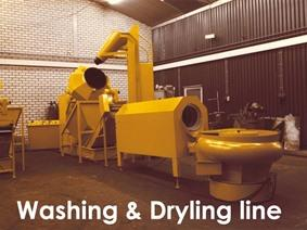 Rosler Rotofinish deburring/washing/drying, Polishing, Grinding & Tumbling Drums