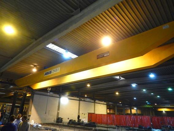 Abus 8 + 8 ton x 23 300 mm, Conveyors, Overhead Travelling Crane, Jig Cranes