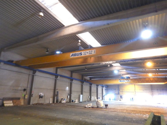 Abus 3,2 + 3,2 ton x 23 300 mm, Conveyors, Overhead Travelling Crane, Jig Cranes