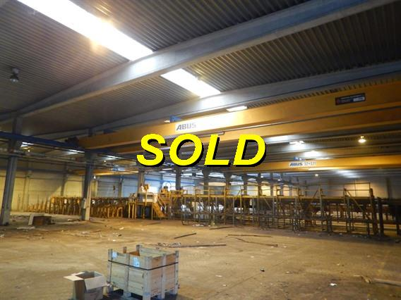 Abus 3,2 + 3,2 ton x 24 500 mm, Conveyors, Overhead Travelling Crane, Jig Cranes