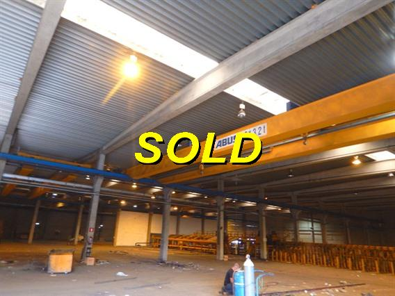 Abus 3,2 + 3,2 ton x 23 750 mm, Conveyors, Overhead Travelling Crane, Jig Cranes