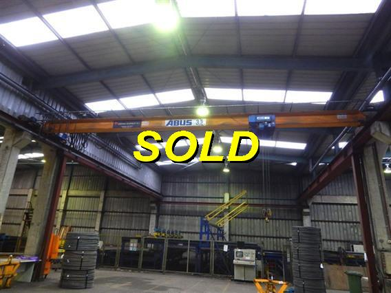 Abus 3,2 ton x 11 600 mm, Conveyors, Overhead Travelling Crane, Jig Cranes