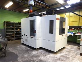 Mori Seiki NH4000 DSG 2 pallets / 400 x 400 mm, Horizontal machining centers