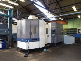 Mori Seiki SH-633 3 pallets / 630 x 630 mm, Horizontale bewerkingscentra conventioneel & CNC