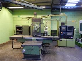 Correa B-20 X:1500 - Y: 650 - Z: 600 mm CNC, Bed milling machines with moving table & CNC