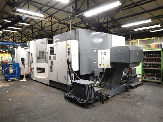 Okuma MA-600HB, 6 pallets / 630 x 630 mm