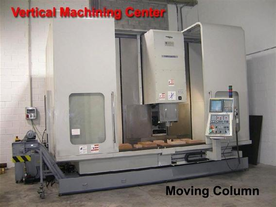 Microcut TC-2100 X: 2100 - Y: 610 - Z: 610 mm CNC, Bed milling machine with moving column & CNC