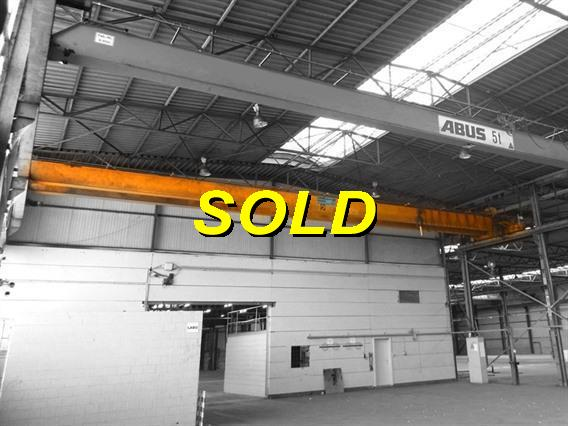 Timmers 5 ton x 19 900 mm, Conveyors, Overhead Travelling Crane, Jig Cranes