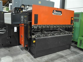 Amada Promecam ITPS 80 ton x 2500 mm CNC, Hydraulic press brakes