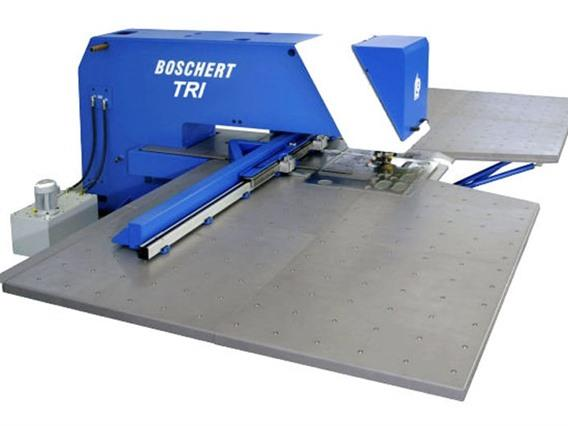 Boschert TRI 2000 x 1000 mm CNC, Stamping & punching press thin metalsheet