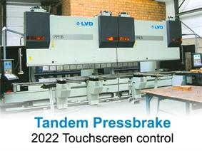 LVD 350 ton x 8100 mm CNC, Hydraulic press brakes