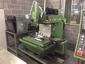 Hermle UWF 900 E, Bed milling machines with moving table & CNC
