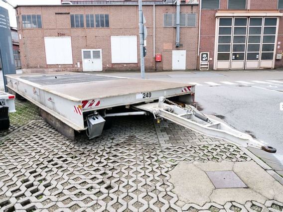 Loading cart, 100 ton