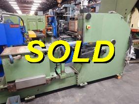 Termoz shear & beading machine, Presses a border