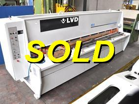 LVD IST-E 4100 x 6,35 mm CNC, Hydraulic guillotine shears