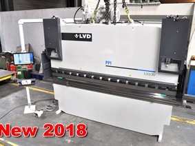 LVD PPI 110 ton x 3100 mm CNC, Hydraulic press brakes