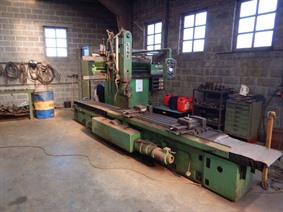 Liné-GSP plano milling/grinding, Rectifieuses a surface plane, broche Verticales