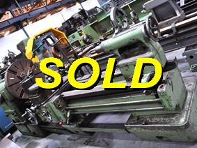 Schaerer Ø 820 x 2000 mm, Centre lathes