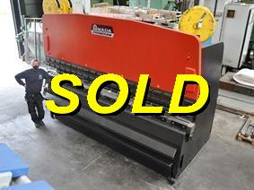 Amada RG 200 ton x 4050 mm, Hydraulic press brakes
