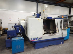Hartford X: 1020 - Y: 510 - Z: 510 mm, Vertical machining centers