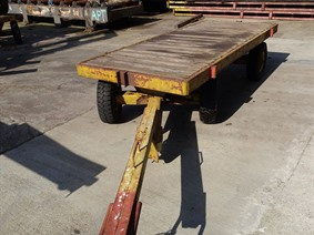 Loading cart 8 ton, Transportmitteln (reinigung - Hubstapler etc)