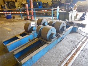 SAF welding rotator 60 ton, Turning gears - Positioners - Welding dericks & -pinchtables