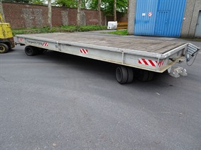 Loading cart 30 ton, Transportmitteln (reinigung - Hubstapler etc)