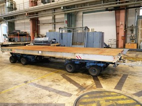 Loading cart 50 ton, Transportmitteln (reinigung - Hubstapler etc)
