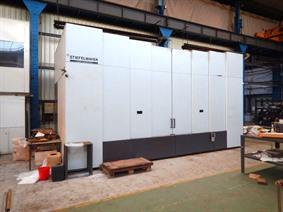 Stiefelmayer Laser Hardening Rofin Sinar 4100 mm, Laser cutting machines