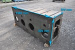 Clamping bloc, 1980 x 800 x 500 mm