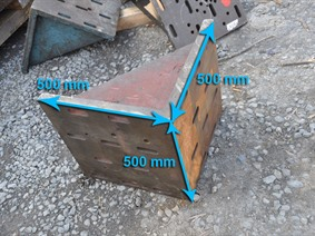 Clamping bracket 500 x 500 x 500 mm, Cubic- & angleplates or tables