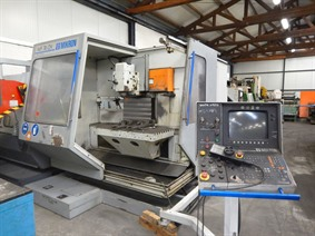Mikron WF 74 CH X: 900 - Y: 630 - Z: 500 mm, Universele freesmachines conventioneel & CNC