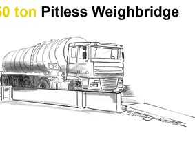 Delaere 50 ton pitless weighbridge, Varia
