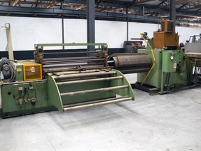 STAM 1500 x 5 mm decoiler + straightener, Decoiling + / or Roll forminglines