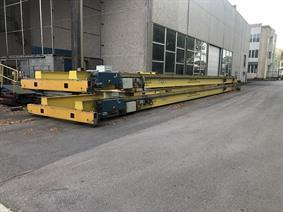 Demag 3,2 + 3,2 ton x 20 100 mm, Rolbruggen, Loopbruggen, Takels & Kranen