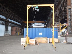 Verlinde Mobile portal crane 2 ton, Rolbruggen, Loopbruggen, Takels & Kranen