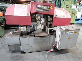 Behringer HBP dia 410 mm, Band sawing machines