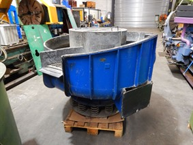 Rosler Rotary vibrator Ø 1500 mm, Surface treatment machines