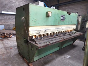 Soenen 3100 x 10 mm, Hydraulic guillotine shears