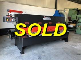 Amada Promecam GPX 3100 x 6 mm CNC + plate support, Hydraulic guillotine shears