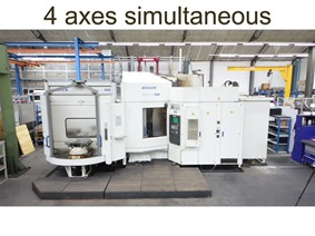 Heller X: 800 - Y: 800 - Z: 710 mm CNC, Horizontal machining centers