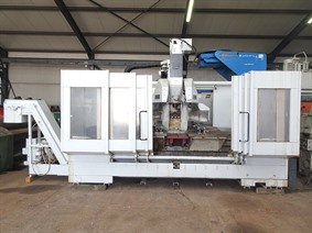Unisign X: 2000 - Y: 550 - Z: 400 mm CNC, Vertical machining centers