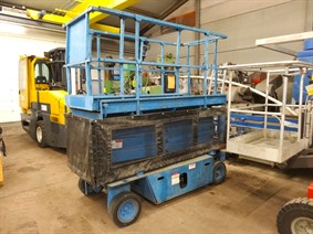 Grove scissor lift, Transportmitteln (reinigung - Hubstapler etc)
